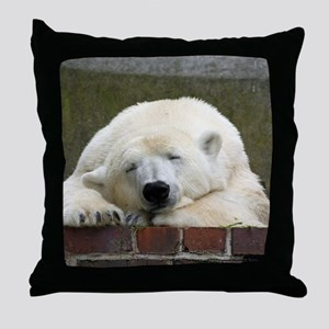 Polar bear 003 Throw Pillow