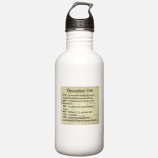 December 11th Water Bottle