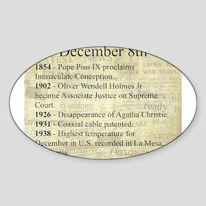 December 8th Sticker