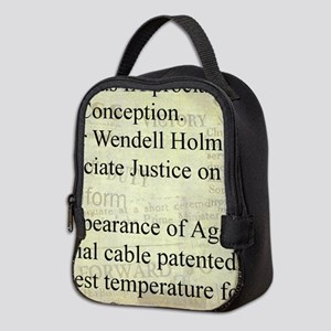 December 8th Neoprene Lunch Bag