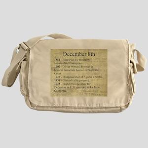 December 8th Messenger Bag