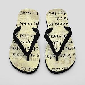 December 6th Flip Flops
