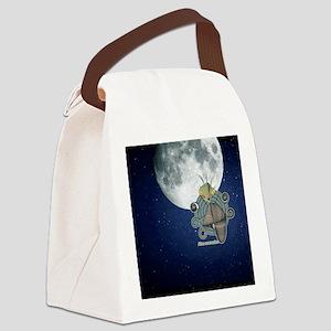 Alien Reservation Canvas Lunch Bag