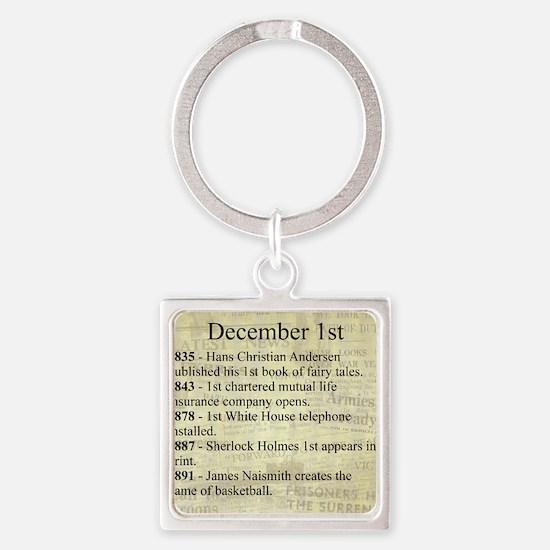 December 1st Keychains