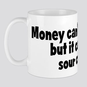 sour cream (money) Mug