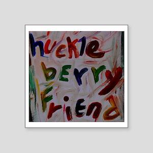 """huckleberry friend Square Sticker 3"""" x 3"""""""