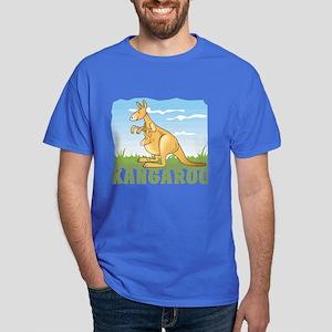 Kid Friendly Kangaroo Dark T-Shirt