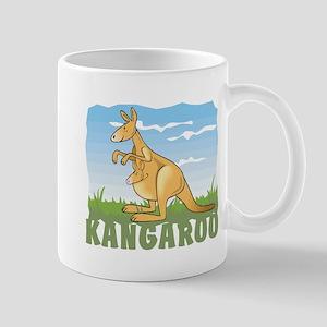 Kid Friendly Kangaroo Mug