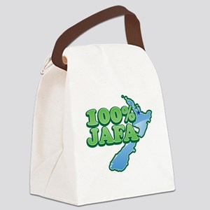 100% percent JAFA (just another F Canvas Lunch Bag