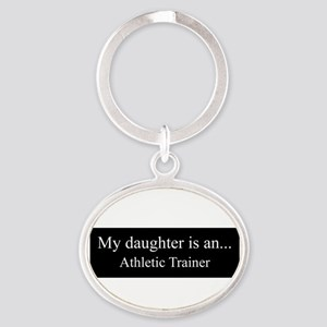 Daughter - Athletic Trainer Keychains