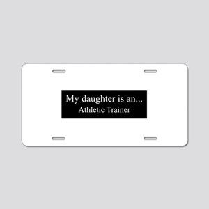 Daughter - Athletic Trainer Aluminum License Plate