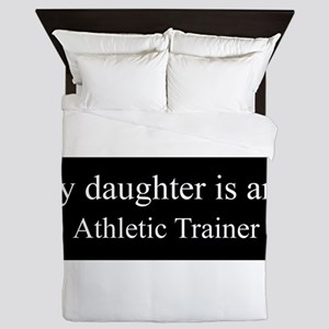 Daughter - Athletic Trainer Queen Duvet