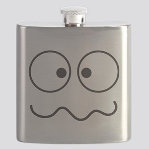 Crazy eyes face funny Flask