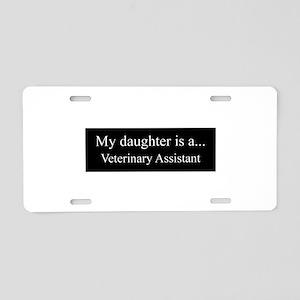Daughter - Veterinary Assistant Aluminum License P
