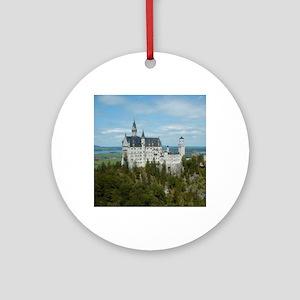 Neuschwanstein Castle Round Ornament