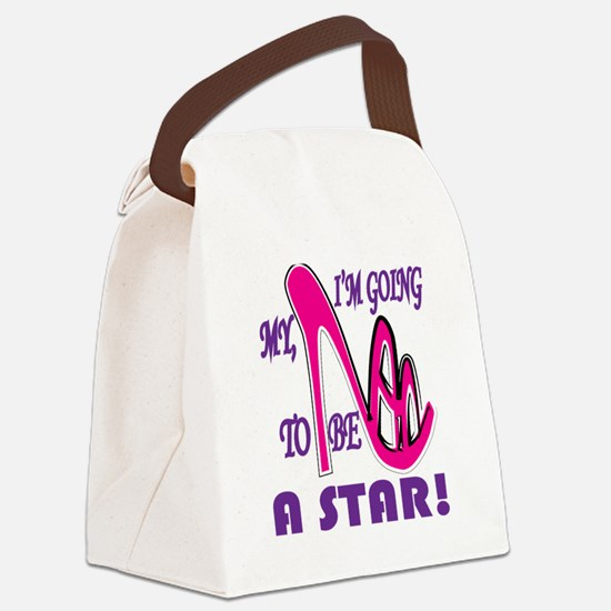 Be a Star Canvas Lunch Bag