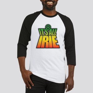 It's All Irie-Peace Baseball Jersey