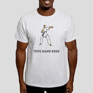 Custom Karate Black Belt T-Shirt