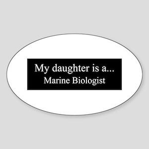 Daughter - Marine Biologist Sticker
