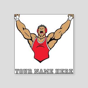 Custom Strong Wrestler Sticker