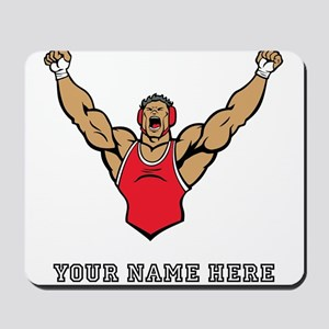 Custom Strong Wrestler Mousepad
