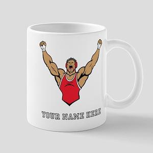Custom Strong Wrestler Mugs