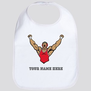 Custom Strong Wrestler Bib