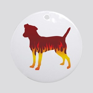 Patterdale Flames Ornament (Round)