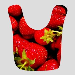 Strawberries Bib