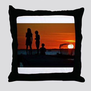 Perfect Ending Throw Pillow