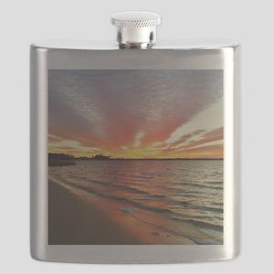 Sunset Streaks Flask