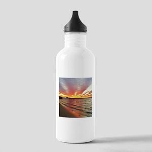 Sunset Streaks Water Bottle