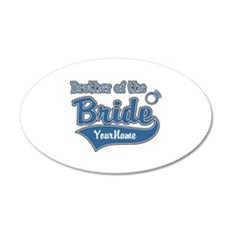 Brother of the Bride Wall Decal