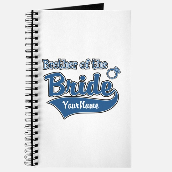 Brother of the Bride Journal