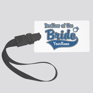 Brother of the Bride Large Luggage Tag