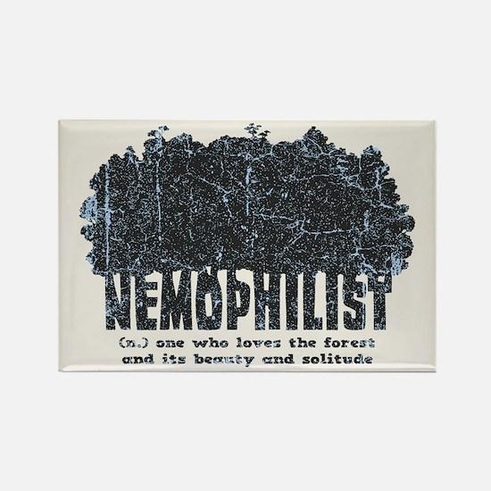 Nemophilist Rectangle Magnet