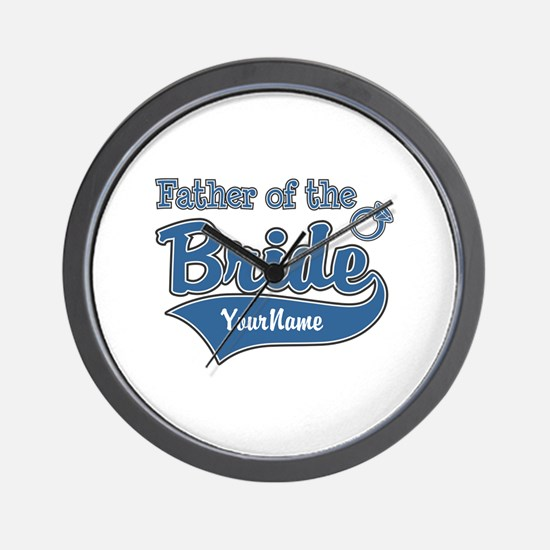 Father of the Bride Wall Clock