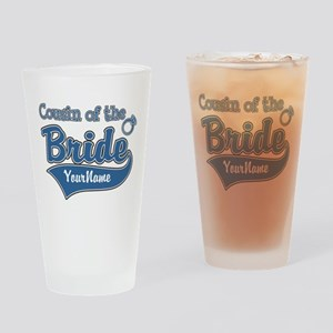 Cousin of the Bride Drinking Glass