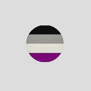 Asexual Pride Flag Mini Button