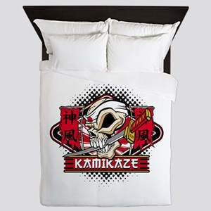 Kamikaze Skull Queen Duvet