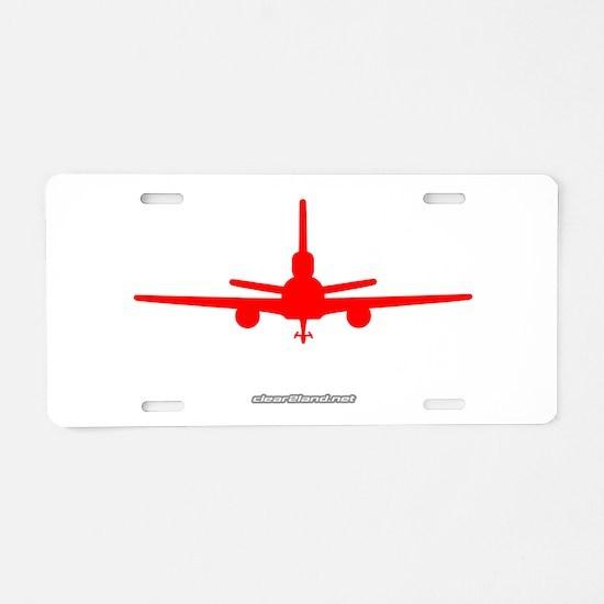 KC-10 Aluminum License Plate