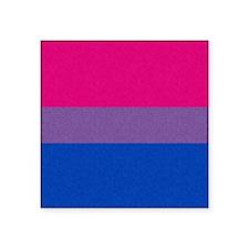 Bisexual Pride Flag Square Sticker 3