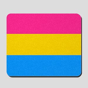 Pansexual Pride Flag Mousepad