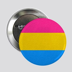 """Pansexual Pride Flag 2.25"""" Button"""