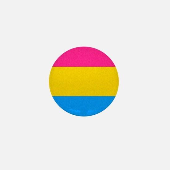 Pansexual Pride Flag Mini Button