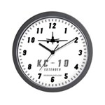 KC-10 Wall Clock