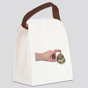 TappingServiceBell051211 Canvas Lunch Bag