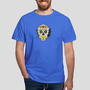Día de los Muertos Skull Dark T-Shirt