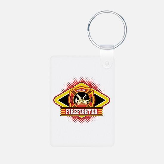 Firefighter Keychains