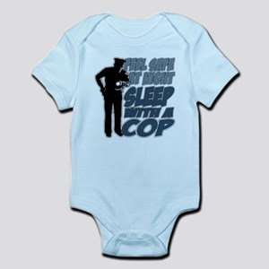 Feel Safe at Night, Sleep With a C Infant Bodysuit